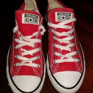 worn Converse size  9.5 women Chuck Taylors